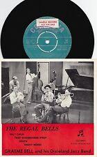 Graeme Bell ORIG OZ Promo EP Regal Bells VG+ Columbia SEGO70014 Jazz Dixieland