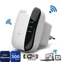 300Mbps 802.11 Wifi Repeater Wireless-N AP Range Signal Extender Booster~UK Plug
