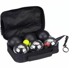 Get & Go Spiel Boule Set 6 Kugeln Metallkugeln Boulekugeln Petanque Boccia