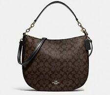 ★ COACH* Elle Signature Hobo Monogram Crossbody Bag IM/AA8 F39527 ★