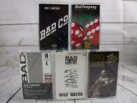 Cassette Tape Lot BAD COMPANY Self Shooter Angels Holy Water Trouble 10 from 6
