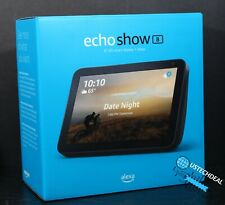 Amazon Echo Show 8 Alexa Charcoal Smart Speaker @NEW@