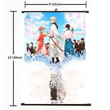 Hot Anime Gintama Gin Tama Wall Poster Scroll Home Decor Cosplay 2341
