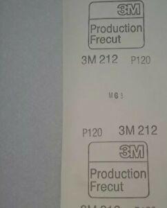 3M 212  SANDING PAPER SANDPAPER  GRIT P120  FREE p&p