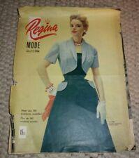 """Modezeitschrift """"Regina"""", 1954"""