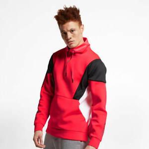 Nike Jordan Flight Tech 23E Lite Men's 1/4 Zip Jacket Infrared AO0408 612 New XL