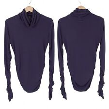 (SALE) Jean Paul GAULTIER HOMME design turtleneck tops Size 48(K-25553)