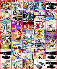 XBOX 360 KINECT AUSWAHL: SET, KAMERA , GAMES ODER LADEKABEL AUSWAHL SAMMLUNG*