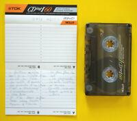 MC Musicassetta TDK CDIng-I 60 vintage compact cassette tape USATA no agfa 3x°