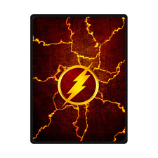 New Arrival Custom The Flash Logo Travel Home Office Blanket 58x80 inch (Large)