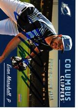 Evan Marshall 2018 Columbus Clippers Signed Card