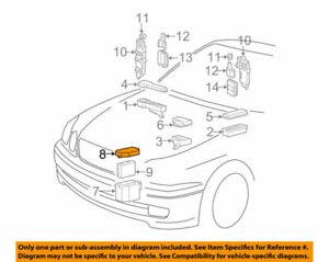 82774-30040 Toyota Cover, engine room ecu 8277430040, New Genuine OEM Part
