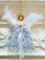 ange pendentif décoration d'arbre de noël de maison suspendue joyeux pendentif