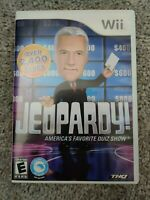Jeopardy (Nintendo Wii, 2010) Complete In Box Video Game - Tested