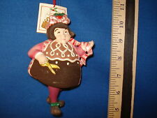 Sugar Plum Fairy Ornament Chocolate Drop Department 56  38050R 150