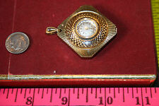 Vintage Caravelle Pendant Watch~Wind up runs
