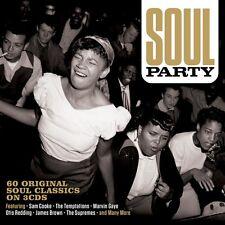 Soul Party - 60 Original Soul Classics (3CD 2016) NEW/SEALED