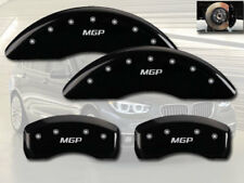 2006-2010 BMW M5 M6 Front + Rear Black MGP Brake Disc Caliper Covers 4pc Set