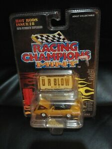 1970 PLYMOUTH SUPERBIRD RACING CHAMPIONS MINT 1/68  U R SLOW HOT ROD ISSUE 8