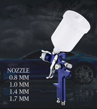 New Arrival Gravity New Feed HVLP Paint Spray Gun 0.8 1.0 1.4 1.7MM Nozzle 600ML