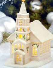 Lenox Christmas Village Lighted Church Collectible Led Building New In Box