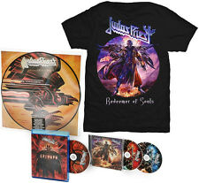 JUDAS PRIEST - 30th Anv.180G.Vinyl PictureDisc LP,2 DeluxeCD's,Blu-ray + T-SHIRT