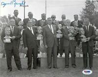 Sammy Baugh Signed Autographed Inaugural HOF Induction 8x10 Photo PSA/DNA COA