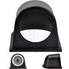 """Universal 2"""" 52mm Auto Supporto 1-fori Manometro Strumenti Indicatore Nero DB"""