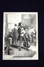Il giovine viaggiatore era trasformato Incisione del 1869