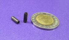 """Steel Coiled Spring Pin, 1/8"""" Dia x .375"""" Length, 200 pcs"""