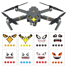 DJI Mavic Pro Drone Decals Stickers Skins Shark Hawk Eagle Ghost Spark 8 Styles