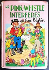 Vintage 1970 Book MR. PINK-WHISTLE INTERFERES by ENID BLYTON - Dean & Son