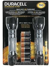Duracell Durabeam Ultra Heavy-Duty LED Flashlights 700 Lumens 2 Pack