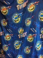 Teenage Mutant Ninja Turtles Twin Comforter Reversible & Flat Sheet