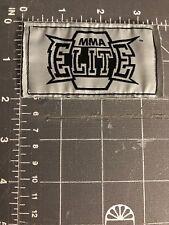 MMA Elite Patch Tag Logo Mixed Martial Arts Fighting Boxing Jiu Jitsu Fitness
