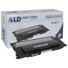 LD Fits Samsung CLT-K407S Black Laser Toner Cartridge for CLP/CLS Printers
