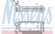 NISSENS Intercooler radiador admisión de aire 96491