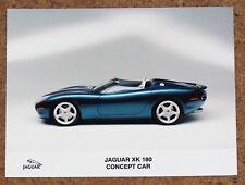 JAGUAR XK 180 CONCEPT CAR Original Press Photo circa 1999 4.0 Supercharged MINT