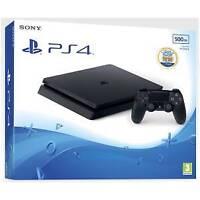 9926160 PS4 Console 500GB E ChassisSlim Black + Dimmi chi Sei! VCH