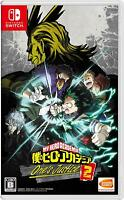 NEW Nintendo Switch My Hero Academia One's Justice2 IMPORT JAPAN OFFICIAL