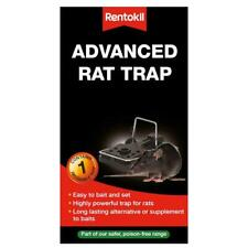 Rentokil Advanced Powerful Rat Rodent Trap, Indoor/Outdoor Use with Easy Release