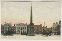Yorkshire (North) postcard - Market Place, Ripon (A724)