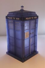 DOCTOR WHO TARDIS DEMATERIALISING TRANSPARENT SPIN & FLY TARDIS FIGURE NEW