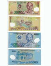 VIETNAM  10,000  AND 20000  DONG  2007  POLYMER  PAIR   UNC