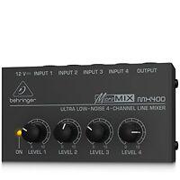 BEHRINGER MICROMIX MX400 Japan
