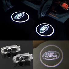2X Ghost Shadow LED Projector Lights Door Logo Laser for Land Rover LR2 LR3 LR4