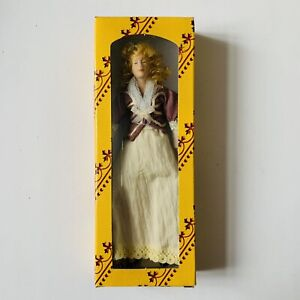 """Vintage """"Del Prado"""" Dolls House Doll 