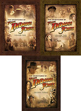 The Adventures Of Young Indiana Jones . Complete Series . Volume 1 2 3 . 31 DVD
