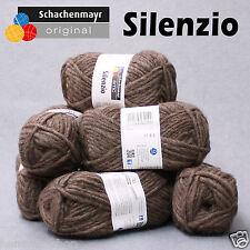 """500g (35€/kg) Schachenmayr """"Silenzio"""" 25% Alpaka Alpaca 10 nuss mel."""