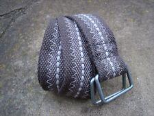 M - EDC Esprit Medium Width Grey Casual Belt womens with 2 piece metal buckle